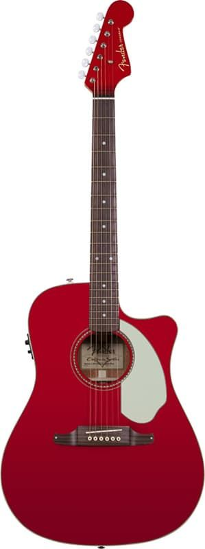 Электроакустическая гитара  Fender Sonoran™ SCE Candy Apple Red (0968604009)