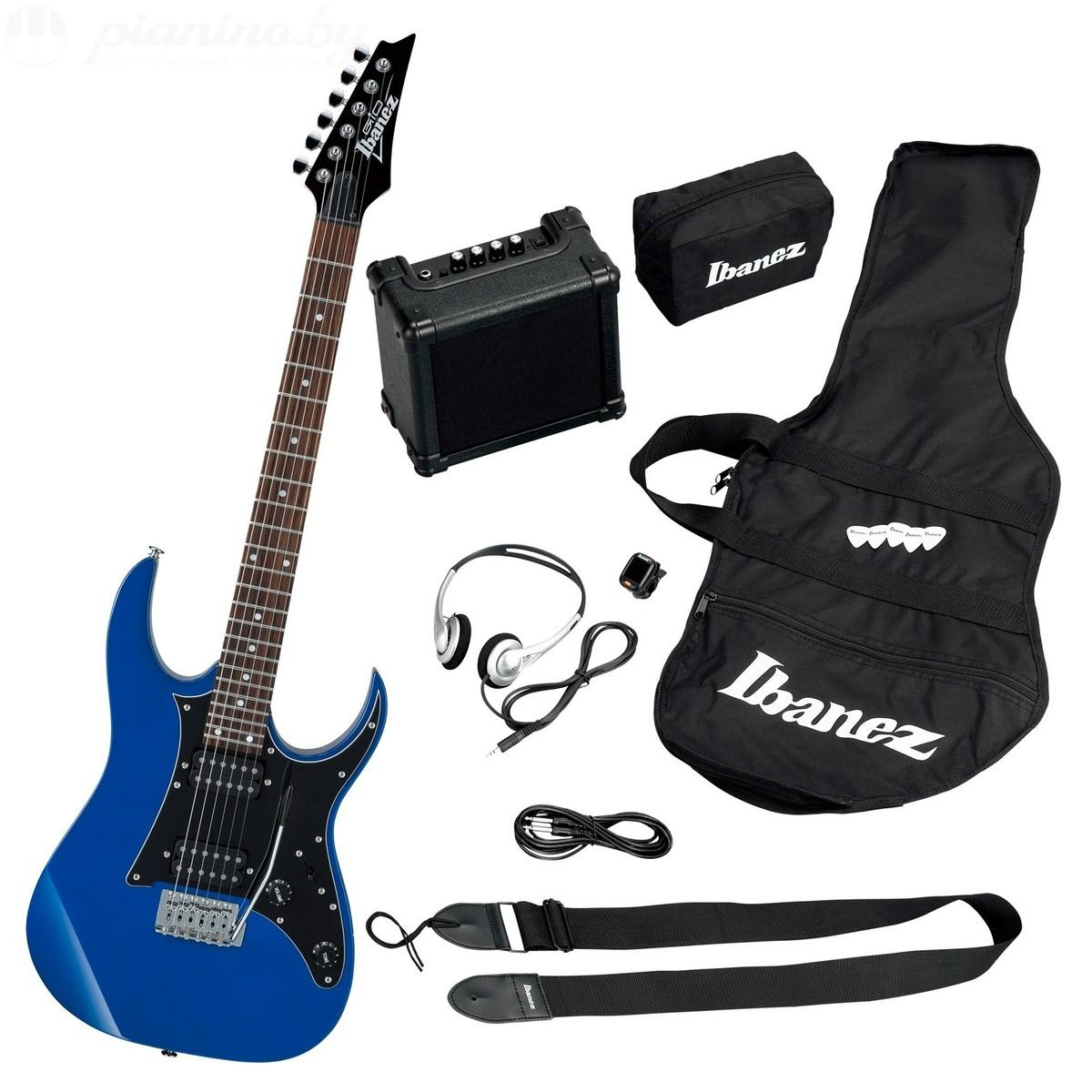 Гитарный комплект Ibanez IJRG200U Blue New Jumpstar (A040157)
