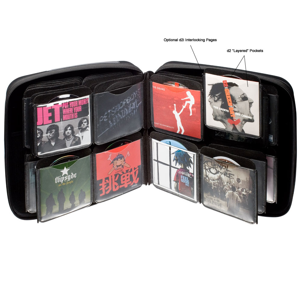 Сумка SLAPPA 40 HardBody CD d2i (Platinum, Graphite)