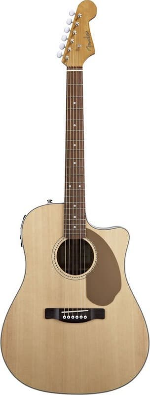Электроакустическая гитара Fender CF-140SCE FOLK Natural