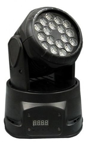 Прожектор-голова LED Mini Version Wash 18x3W Flash F7000561