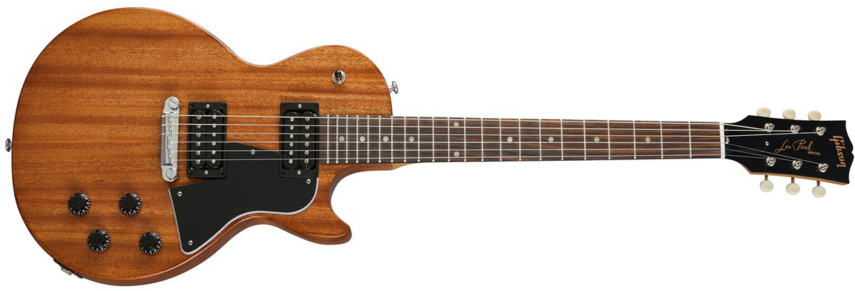 Электрогитара Gibson LES PAUL SPECIAL Tribute Humbacker Natural Walnut Satin A105732