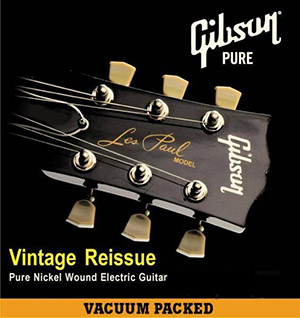 Струны для электрогитары Gibson SEG-VR9 VINTAGE RE-ISSUE PNW (A001560)