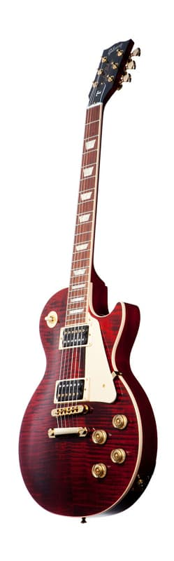Электрогитара Gibson LES PAUL SIGNATURE Т GOLD SERIES WINE RED A042722
