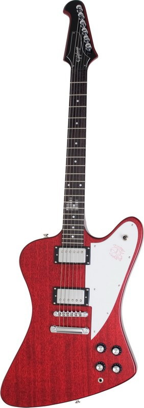 Электрогитара Epiphone Firebird Studio Worn Cherry With Chrome Ch (A007062)