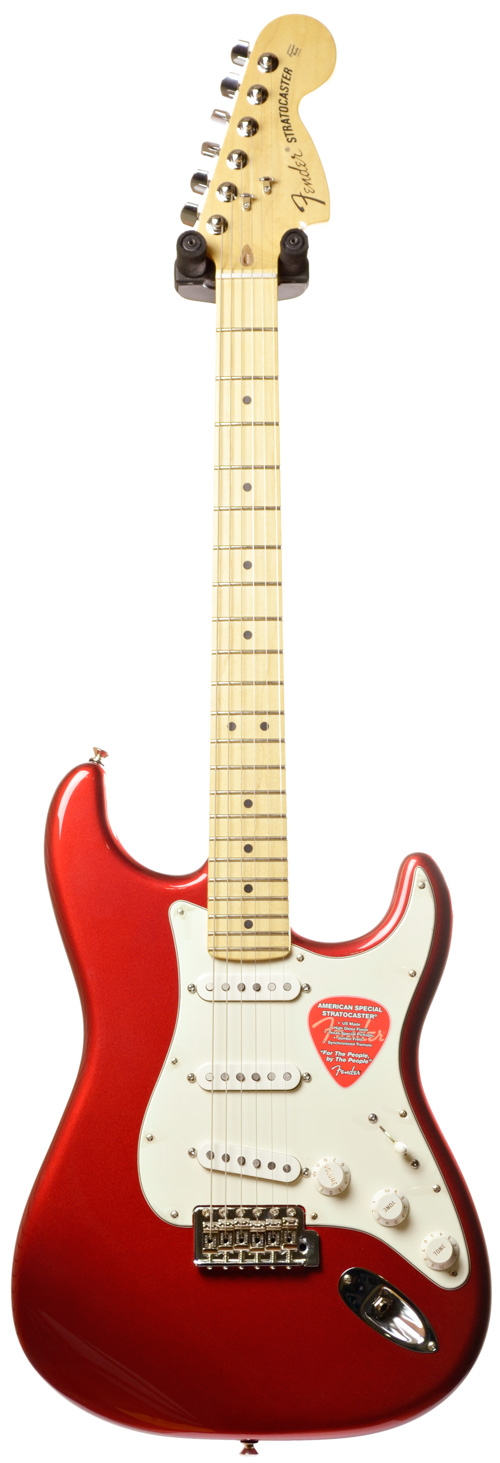 Электрогитара Fender American Special Stratocaster MN Candy APPL