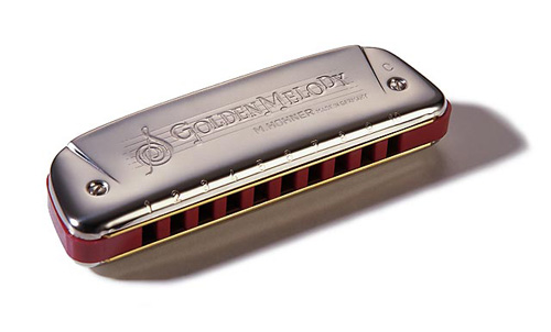 Губная гармошка Hohner GOLDEN MELODY 542/20 G M542086
